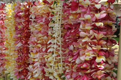 Plumeria Leis at Front Street Lahaina