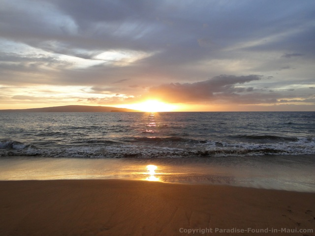 Maui Sunset at Poolenale