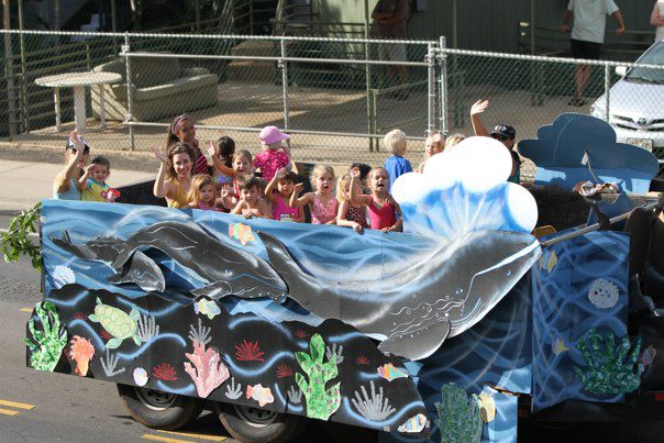 Kids at the Whale Day Parade 2012
