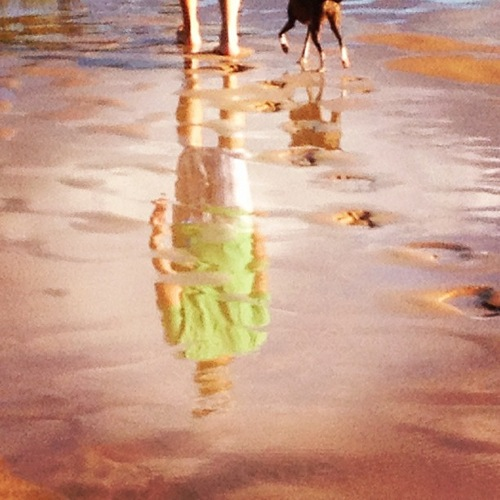 Reflection On Maui Beach