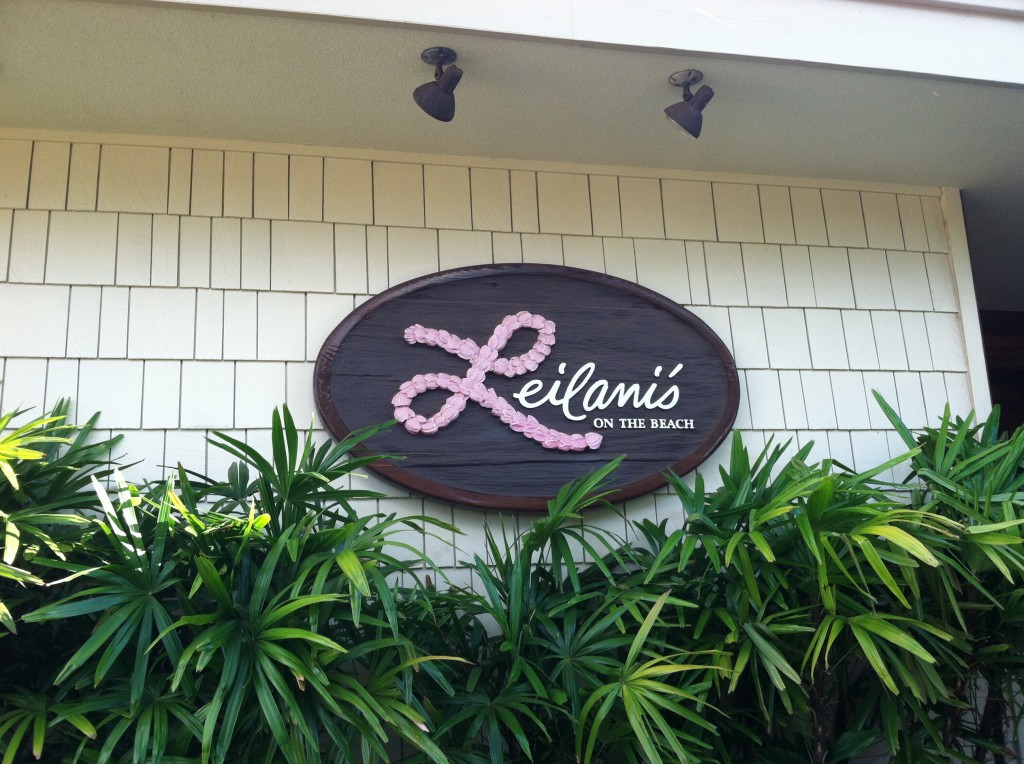 Best in Restaurant at Whalers Kaanapali