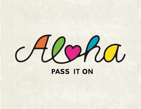 aloha pass it on - 2