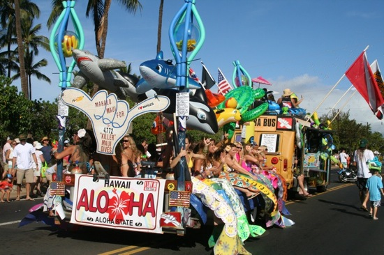 Whale Day Parade Maui Mermaids - 4