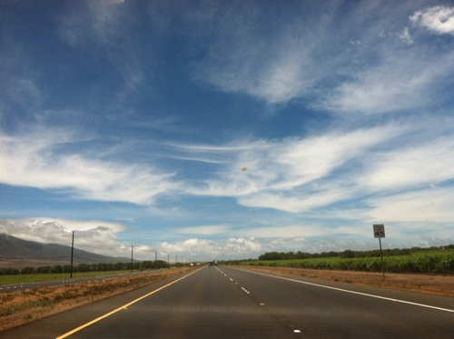 Driving on Maui