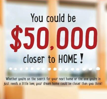 Win $50K via Keller Wililams Inc.