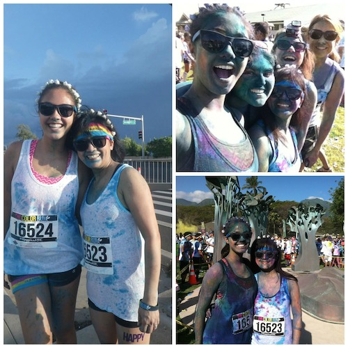 Color Run Maui 2014 - Photo Collage 1