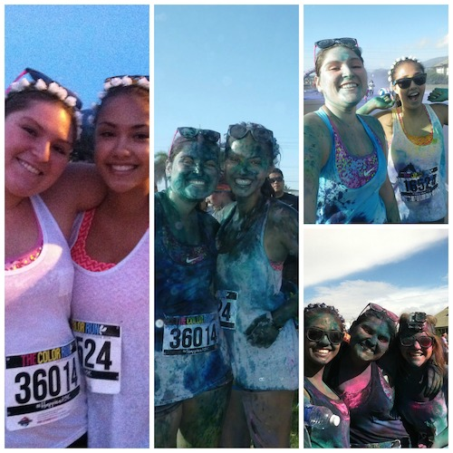 Color Run Maui 2014 - Photos Collage 2