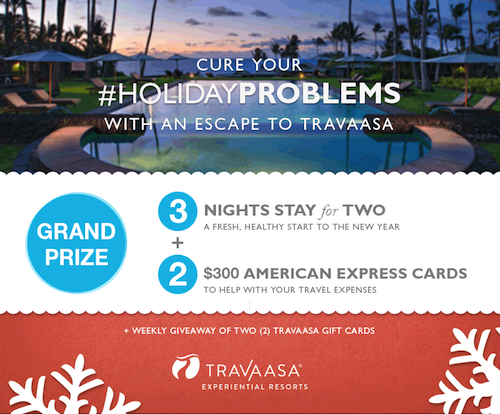 Cure Holiday Problems With Escape to Travaasa