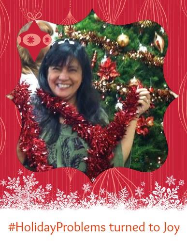 #HolidayProblems turned to Joy