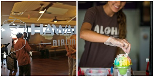 Hawaiian Airlines and Ululani Shave Ice