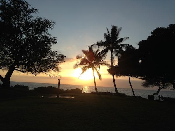 Maui Sunset Kihei  1