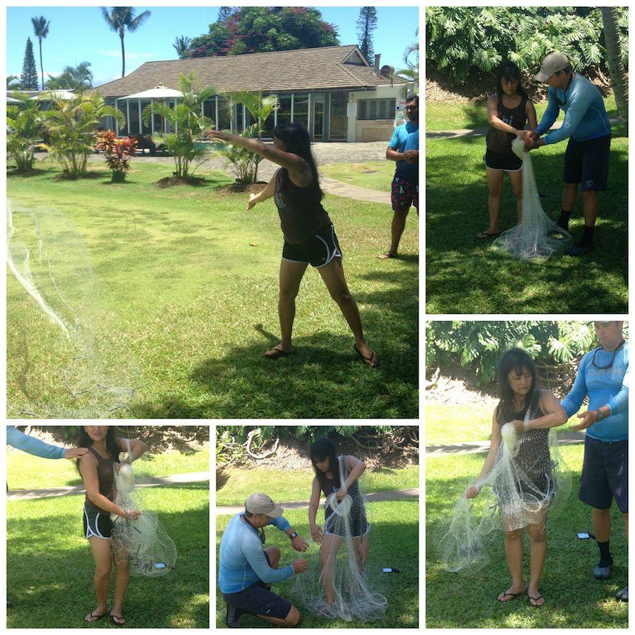 Liza Throw Net Fishing