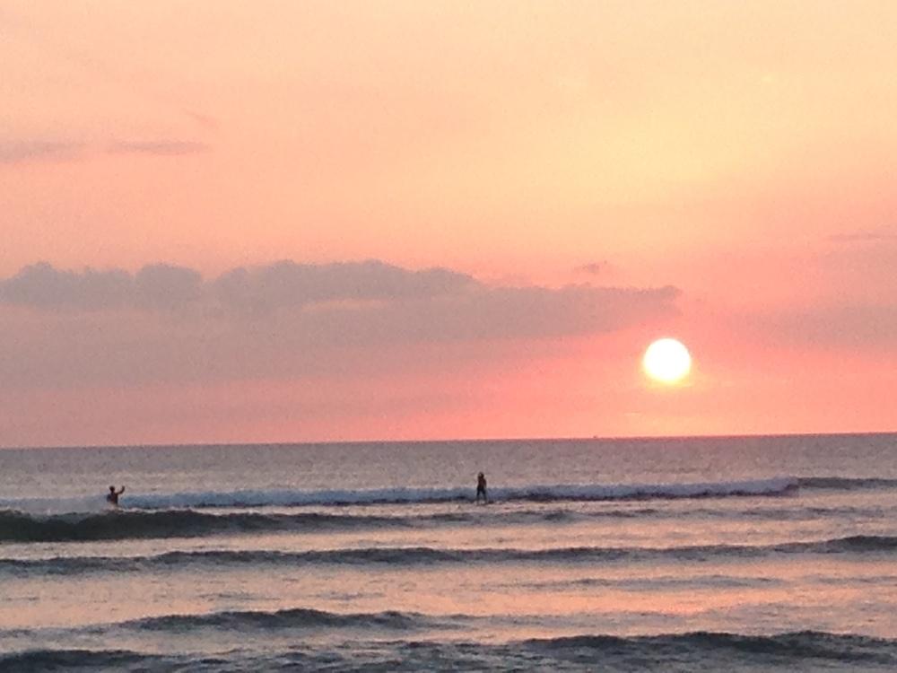Kalama Beach Park Maui Sunset 3