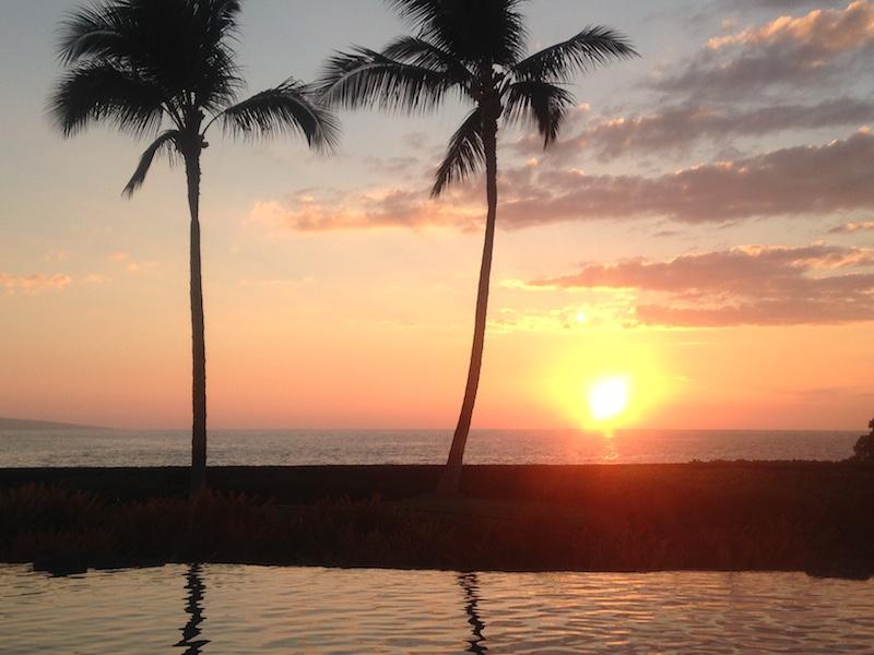 Maui Sunset at Wailea Beach