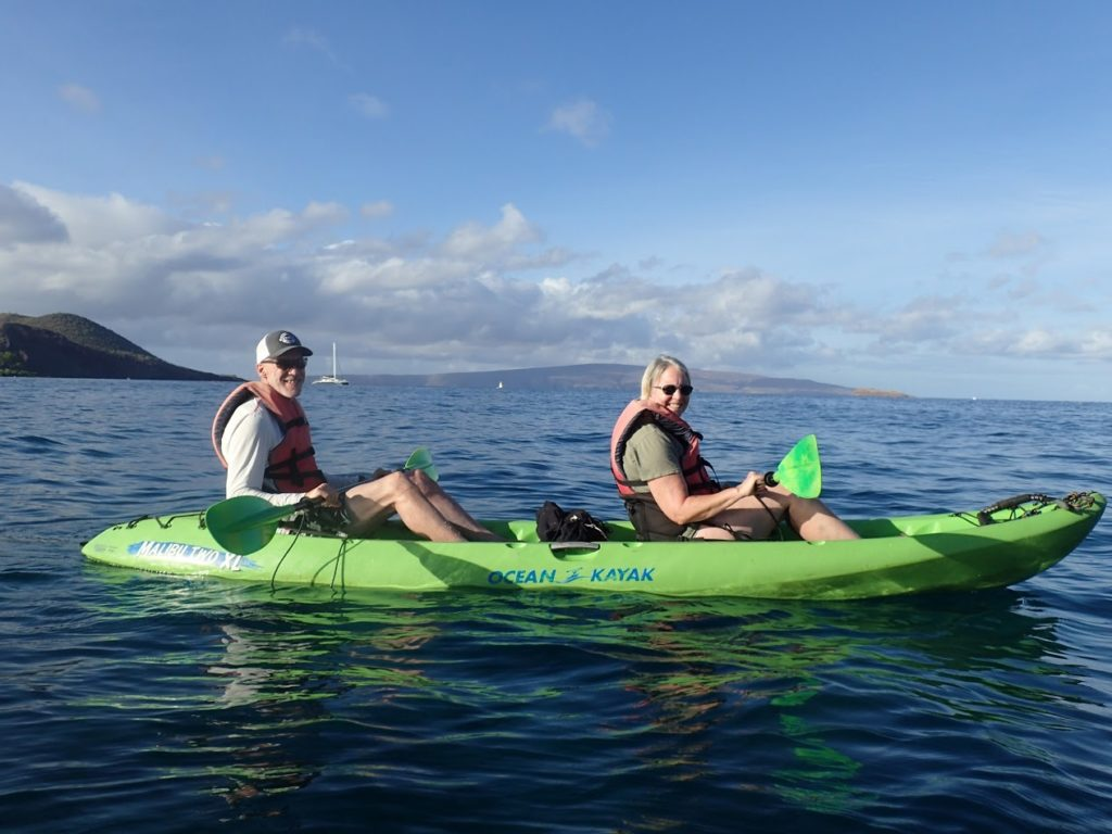 best kayaking and snorkeling tour on maui with hawaiian paddle